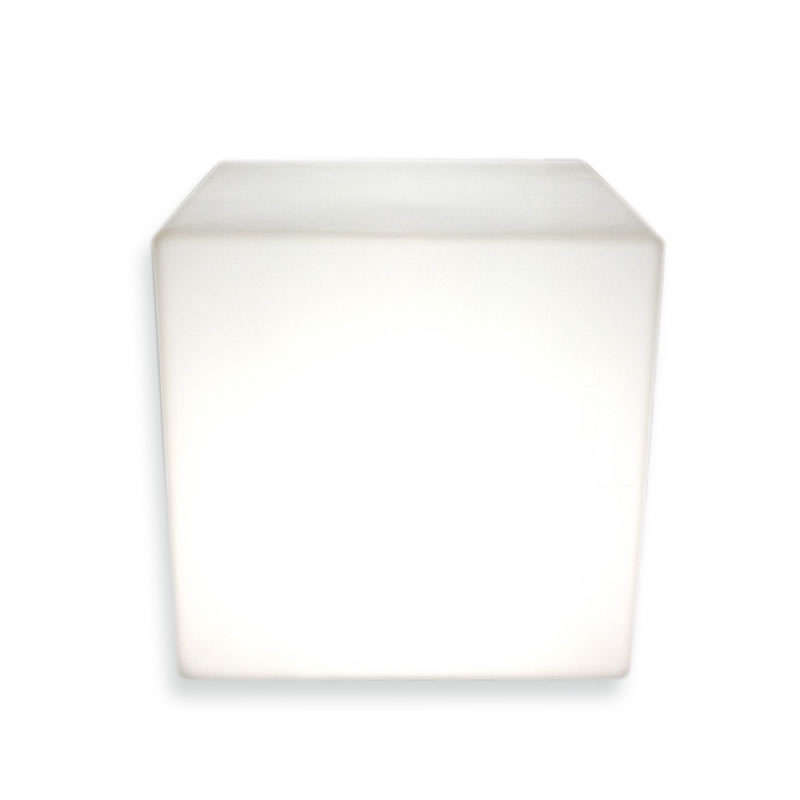 Cubo luminoso led BIG KUB, Blanco frío